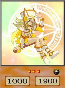 Light Magician Girl dubbed anime