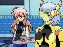 April and Cyber Knight Hope