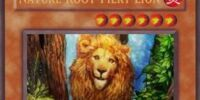 Nature Root-Fiery Lion