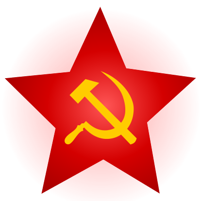 File:Hammer and Sickle Red Star with Glow.png