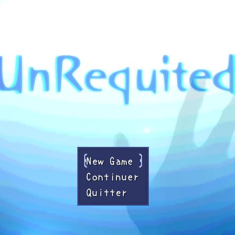 Ver.0.0.1a title screen.