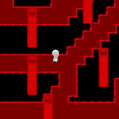 Red Maze Hallucigenia version