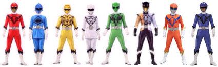 Wild Prime Rangers