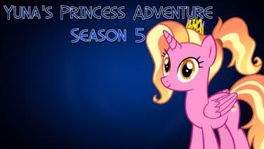 Yuna's Princess Adventure Season 5 poster