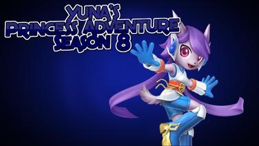 Yuna's Princess Adventure Season 8 poster