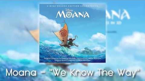 Moana - We Know The Way
