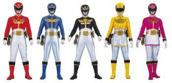 Megaforce Rangers 1st