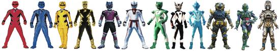 Jungle Fury Rangers