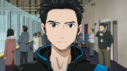 Yuuri concentrated