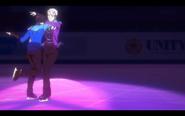 Viktor and Yuuri on the ice 7