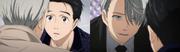 Viktor's coat changing color