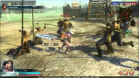 DWO Iron Blade - Move Set