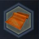Orange fabric s