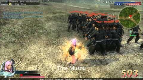 DWO Iron Spear Musous