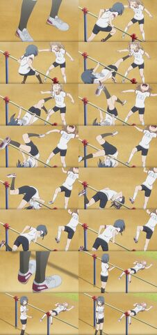 File:Yuru Yuri San Hai Himawari Furutani Back Hip Circle (Somersault Kick) Scene.jpg