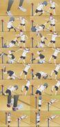 Yuru Yuri San Hai Himawari Furutani Back Hip Circle (Somersault Kick) Scene