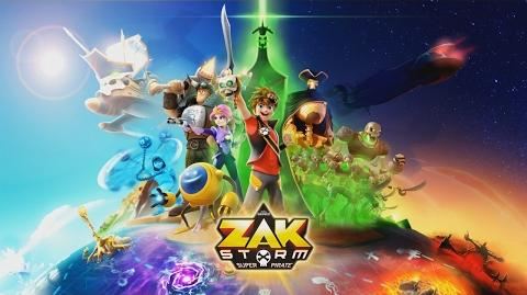 ZAK STORM - Opening sequence with lyrics