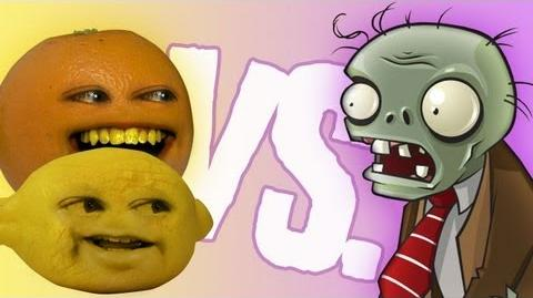 Fruits vs Zombies Grandpa Lemon