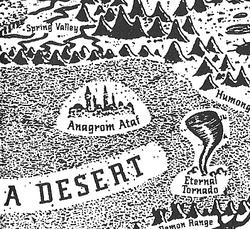 Anagrom Ataf (map)