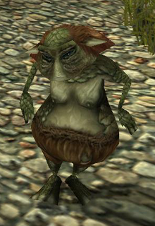 Swamp goblin female