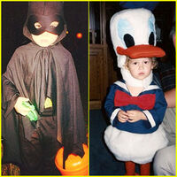 Kelli-berglund-spencer-boldman-halloween-throwback-pics