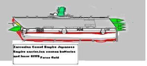 Japanese Comet Empire carrier