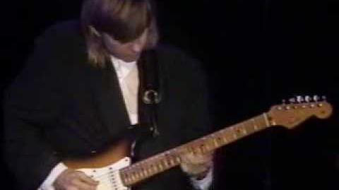 Eric Johnson - Cliffs of Dover - live 1990