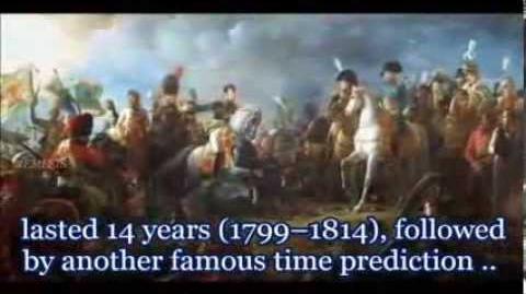 Nostradamus Prophecies Death Comet -- The War of the Third Antichrist -- War World 3