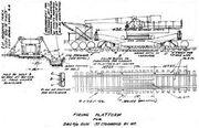 240 mm St Chamond railway gun diagram