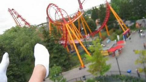 Shock Wave on-ride POV Canada's Wonderland