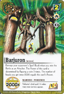 Barujyuron card