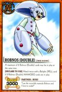 Robnos double card