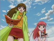 Tia and Megumi