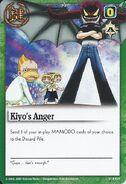 Kiyo's Anger