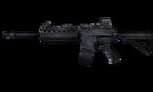 W m rifle m4a1 측면