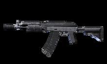 W m rifle ak-107 측면