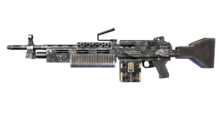 W m heavymachinegun m249 custom 측면