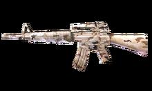 W m rifle m16a2 DesertCamo 측면