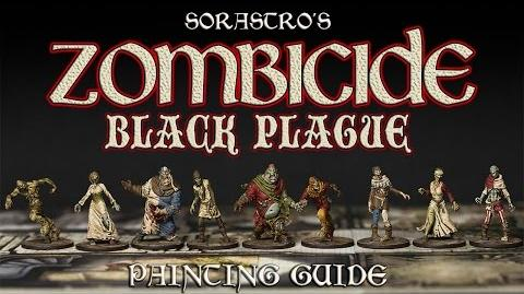 Sorastro's Zombicide Black Plague Painting Guide Ep.1 - The Zombies
