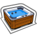 Down Town Hot Tub-icon