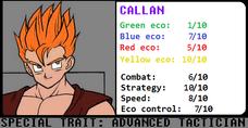 Stats Callan