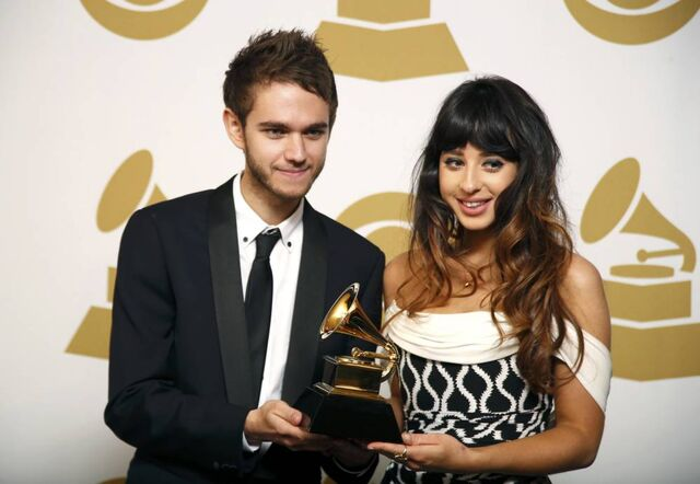 File:Zedd and Foxes at the 56th Grammy Awards (6).jpg