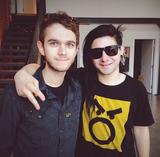 Zedd and Skrillex in 2013