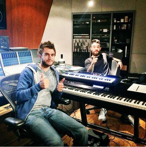 File:Zedd and Jon Bellion in the studio.jpg
