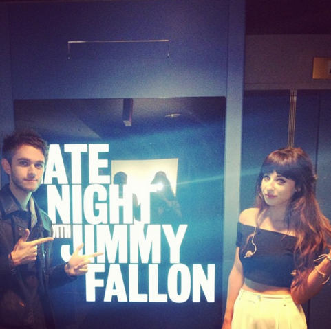 File:Zedd and Foxes on Late Night With Jimmy Fallon.png