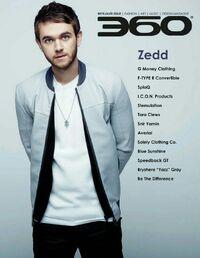 360 Magazine (Zedd issue)