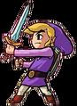 Purple Link (Four Swords)