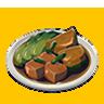 File:Breath of the Wild Food Dish (Honey Glazed) Glazed Veggies (Icon).png