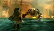 Link vs. Dangoro