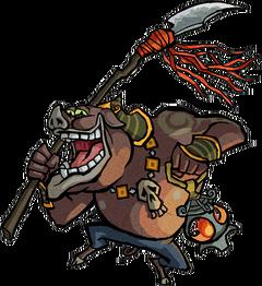 Moblin Artwork (The Wind Waker)